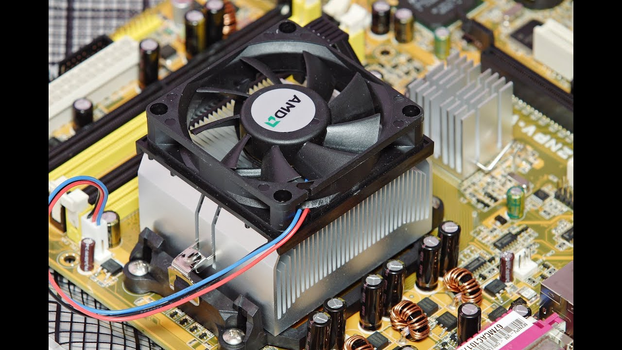 Diy Repair Your Cpu Fan Youtube