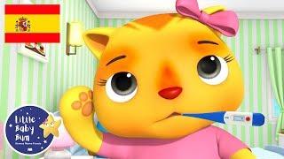 Canciones Infantiles | Recupérate Pronto | Dibujos Animados | Little Baby Bum en Español