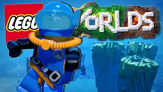Lego Worlds | THE UNDERWATER ADVENTURE!! [#9]