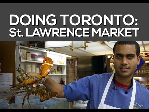 What's Inside The St Lawrence Market - Where Should I Buy Fish In Toronto?