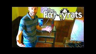 New Standing Desk Workstation Benefits! | Day 2109 - Thefunnyrats Family Vlog