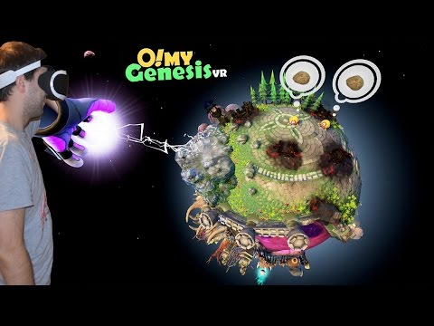 IT'S BACK WITH A NEW PLANET O! My Genesis VR Planet Daggoh PSVR Gameplay