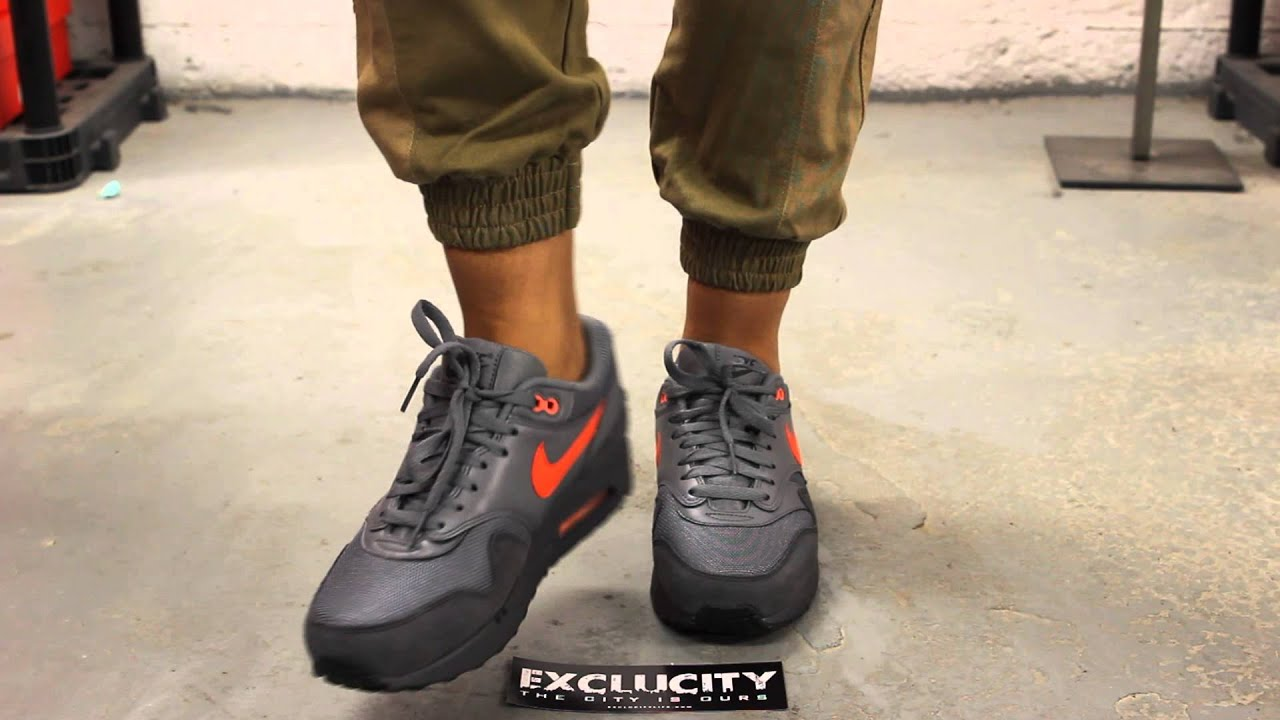 """842ab1cd7d Nike Air Max 1 FB """"Atomic Orange"""" On-feet Video at Exclucity - YouTube"""