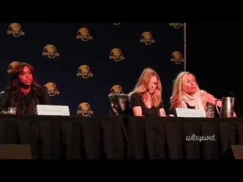 Merrin Dungey gets real about women's voices 09062015  Dragon Con