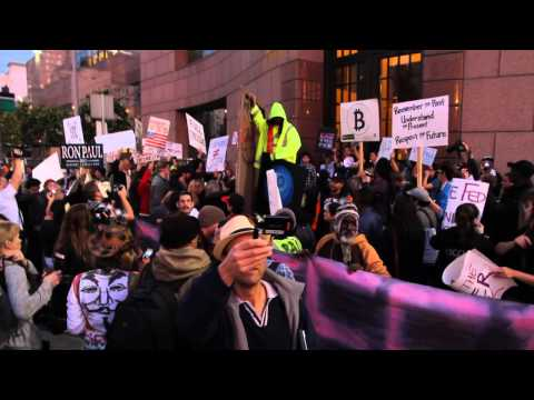 Occupy LA: March against the Federal Reserve on 11/22/2011
