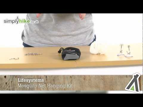 Lifesystems Mosquito Net Hanging Kit - Www.simplyhike.co.uk