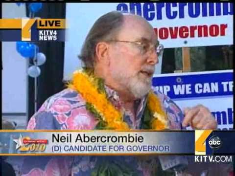 Abercrombie Reacts To Primary Win