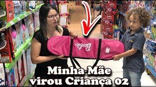 MINHA MÃE VIROU CRIANÇA NA LOJA DE BRINQUEDOS 02