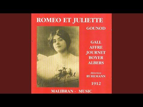 Roméo et Juliette: Acte I. bal chez les Capulets - ''Allons, jeunes gens