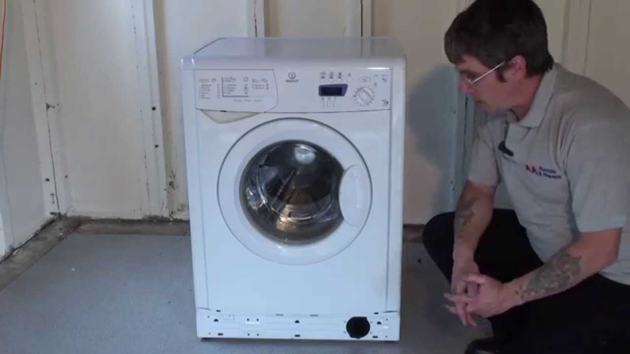 Indesit Iwdc 6125 How To Clean Replace The Filter On A Washing Machine Indesit