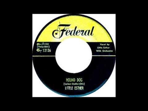 Little Esther -  Hound Dog 1953 Federal 12126