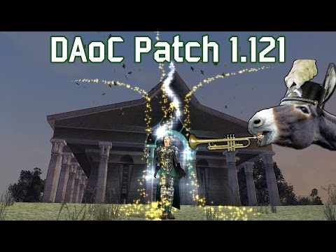 Dark Age of Camelot - Patch 1.121 is here and it's a big'un!