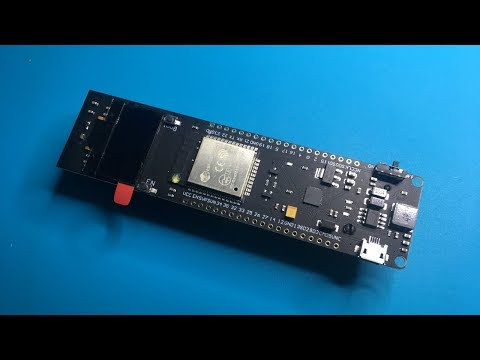 5 Minute Project: TTGO ESP32 OLED Li-Ion board WebRadio