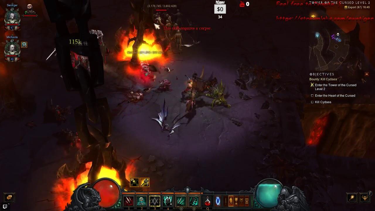 Streaming Diablo 3 RoS (Part 9)