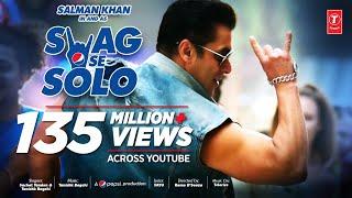 SWAG SE SOLO Song: Salman Khan | Remo D'souza | Sachet Tandon, Tanishk Bagchi Vayu | Bhushan Kumar