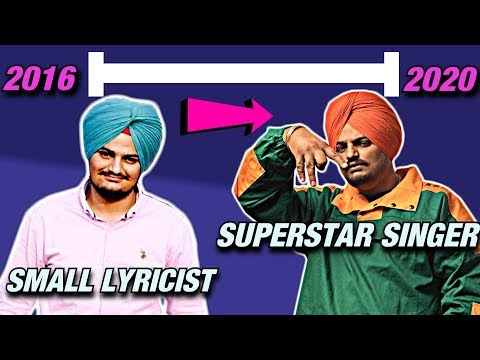 Timeline Of SIDHU MOOSE WALA Becoming The BIGGEST SUPERSTAR In Punjabi Music | Geet Nation