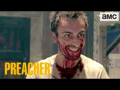 Hitler loses a squash game in the latest bugnuts Preacher trailer