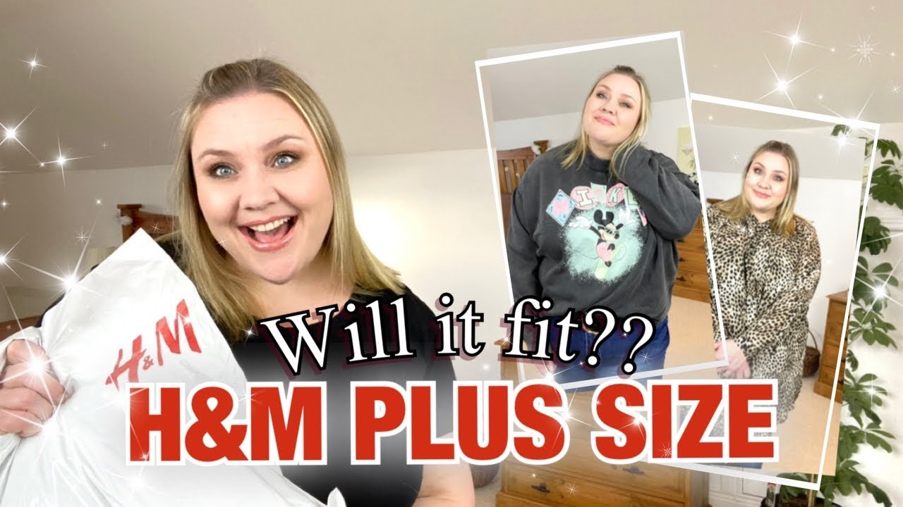 H&M PLUS SIZE try on HAUL | will it fit??