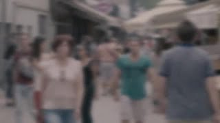 Anonymous People In Slow Motion  Stock Video