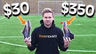 $30 vs $350 Nike Football Boots - Test & Comparison