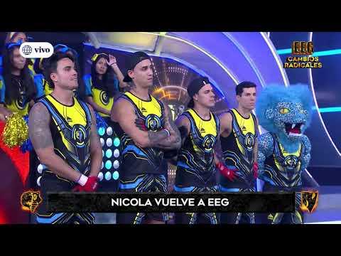 Nicola Porcella regresó a Esto es Guerra como capitán de los Guerreros