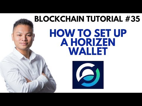 Blockchain Tutorial #35 - How To Setup A Horizen Wallet