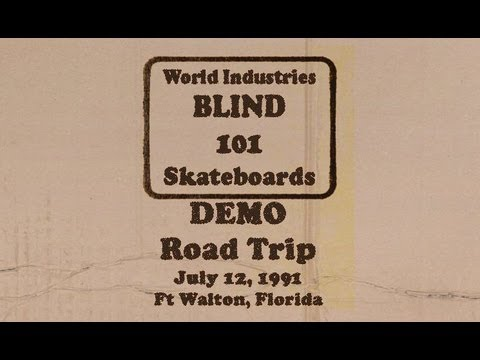 Blind / 101 / World Industries Tour 1991 - demo Ft. Walton, Florida - July 12, 1991