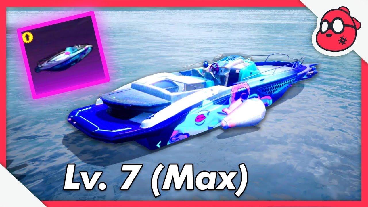 NEW: Boat MAX Lv.7 Skin
