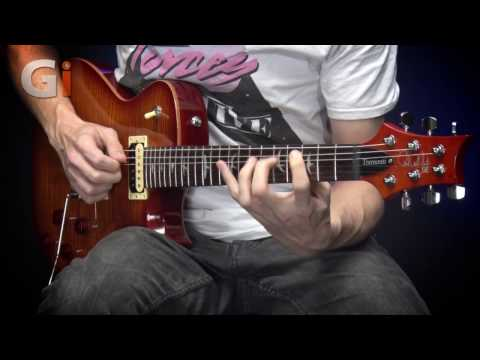 PRS SE Mark Tremonti Vintage Sunburst Guitar Review