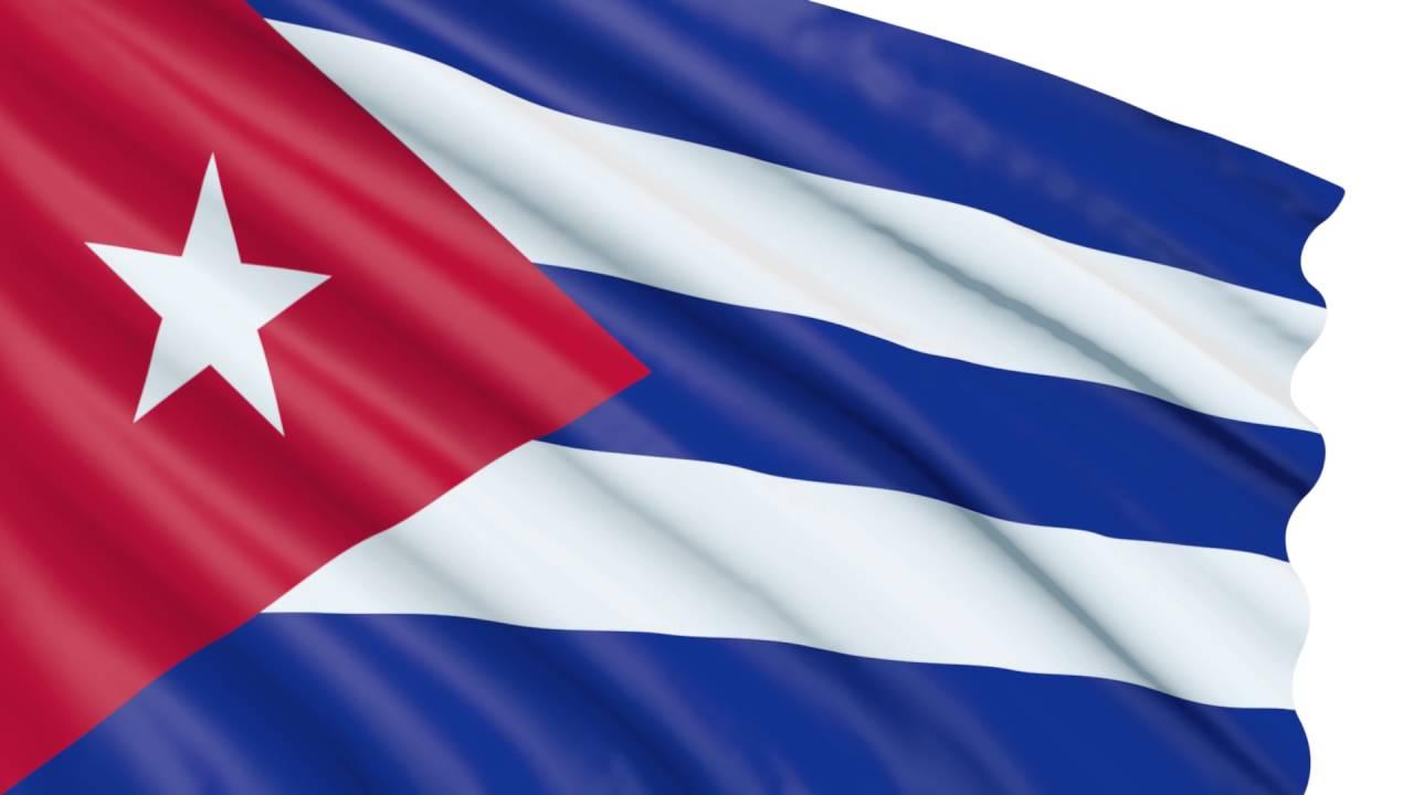 Bandera 3D Cuba Animada Gratis