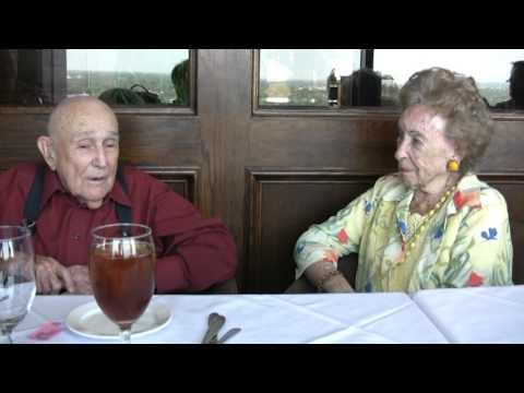 Joan Clegg Meets with Former Marine Herman Robert Shirley