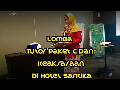 Lomba Tutor Paket C dan Keaksaraan di Hotel Santika    Apresiasi GTK PAUD n Dikmas Berprestasi 2017