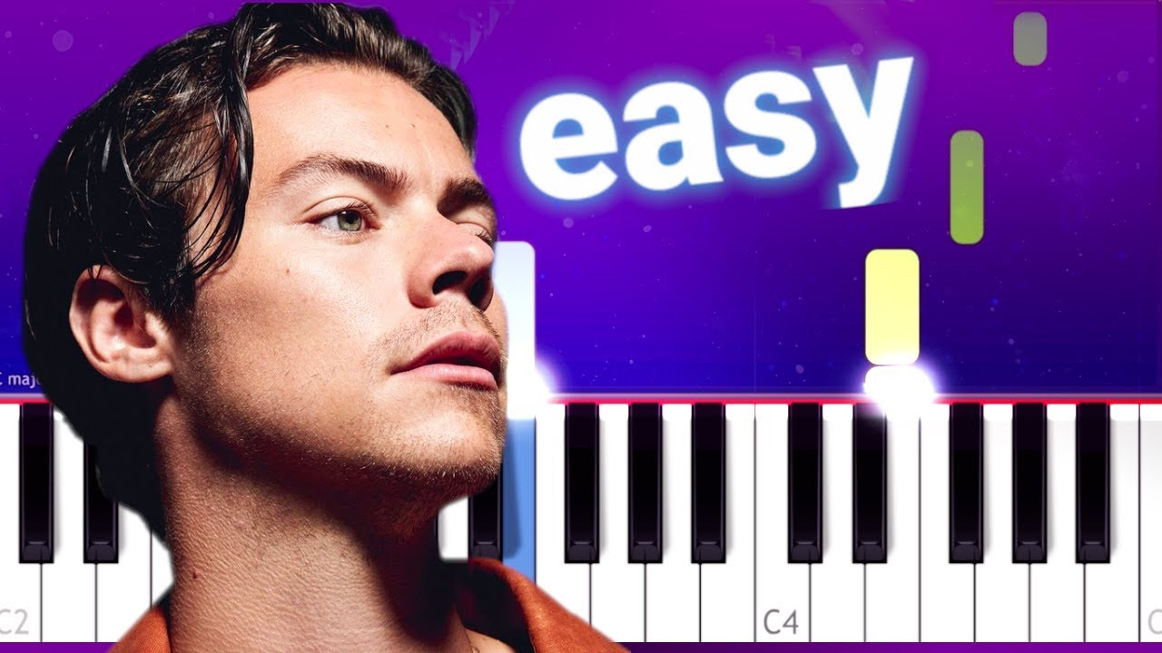 Harry Styles - Falling (100% EASY Piano Tutorial)