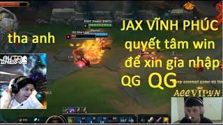JAX VĨNH PHÚC  đối đầu với QTV  cầm ILLAOI đi top