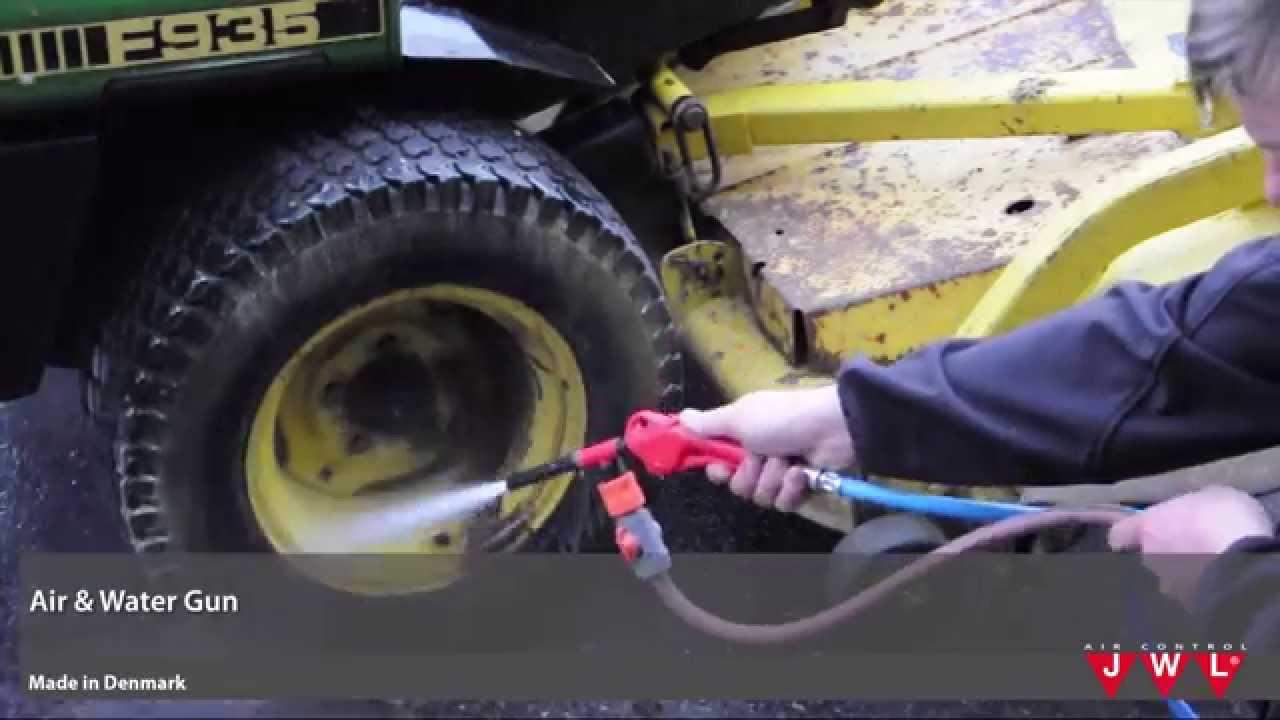 Air Water Gun Wash Powerful Without Splashback And Damage Youtube