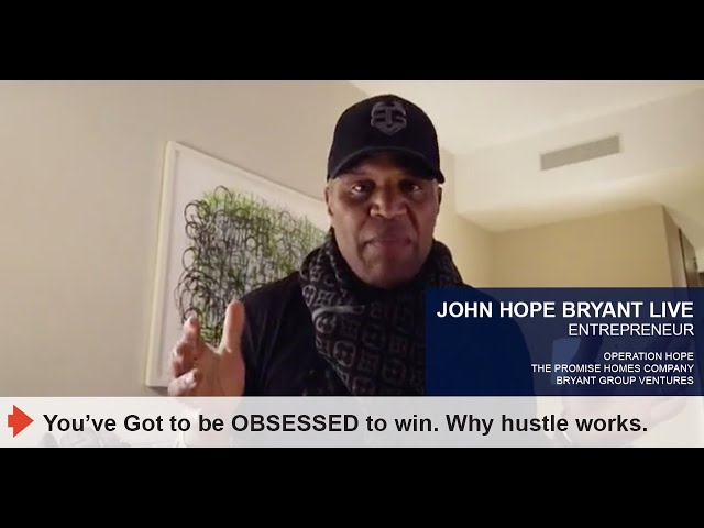 You've Got to be OBSESSED to win. Why hustle works.
