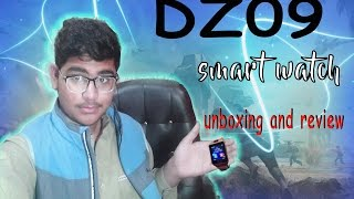 unboxing & review of smartwatch DZ09| episode #2|cheapest & best 2016|Ameer hamza