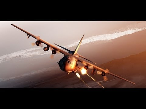 AC130 Spectre   The Ultimate weapon for US Special Forces Close air Support