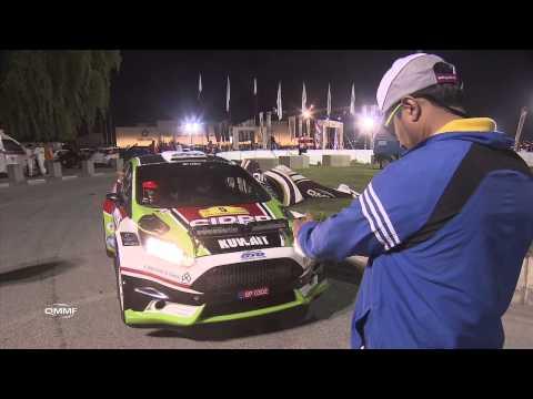 2014 Qatar International Rally SSS Super Special Stage