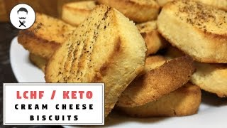 Cream Cheese Biscuits    The Keto Kitchen