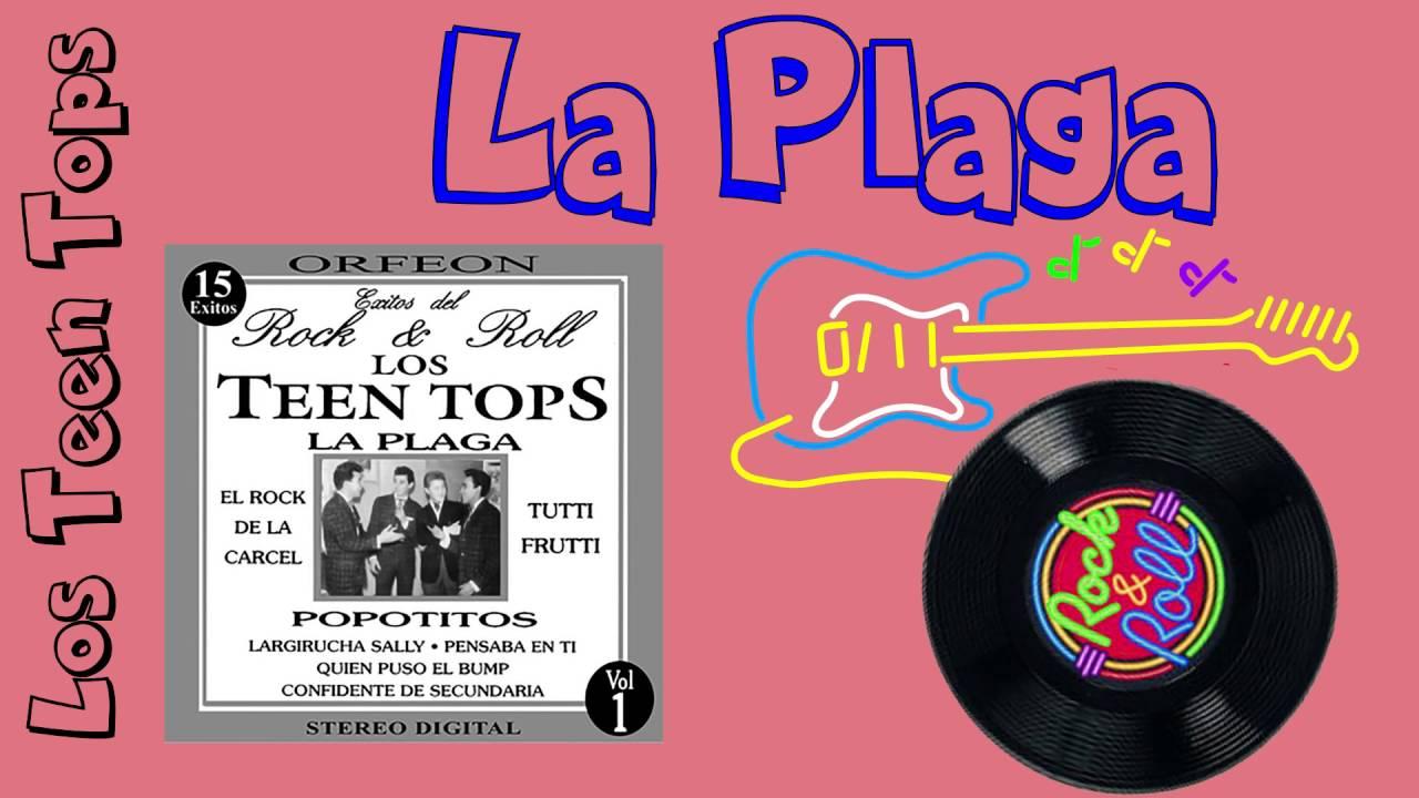 67eabded51 La Plaga - Los Teen Tops - YouTube