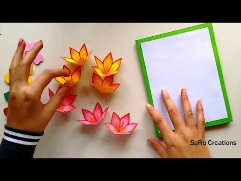 Very Attractive Handmade Pop up Card | New Year Greeting Card Design 2019