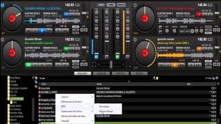DJ GUSTAVO VITE cumbia ecuatoriana mix 2014 en virtual DJ 7