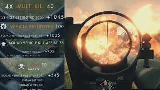 BATTLEFIELD 1 WORLD RECORD MULTIKILL (Biggest / Best BF1 Multikill + Battlefield 1 EPIC Kill)