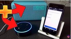 Amazon Alexa Echo Dot mit einem Bluetooth Lautsprecher koppeln für MEHR POWER   Tutorial ANleitung