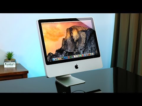 Using Apple's Cheapest IMac... From 10 Years Ago!
