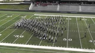 Huntsville High School Band 2015 - UIL 5A Area F Marching Contest
