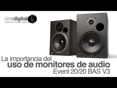 La importancia del uso de monitores de audio: Event 20/20 BAS V3 - CineDigital.tv