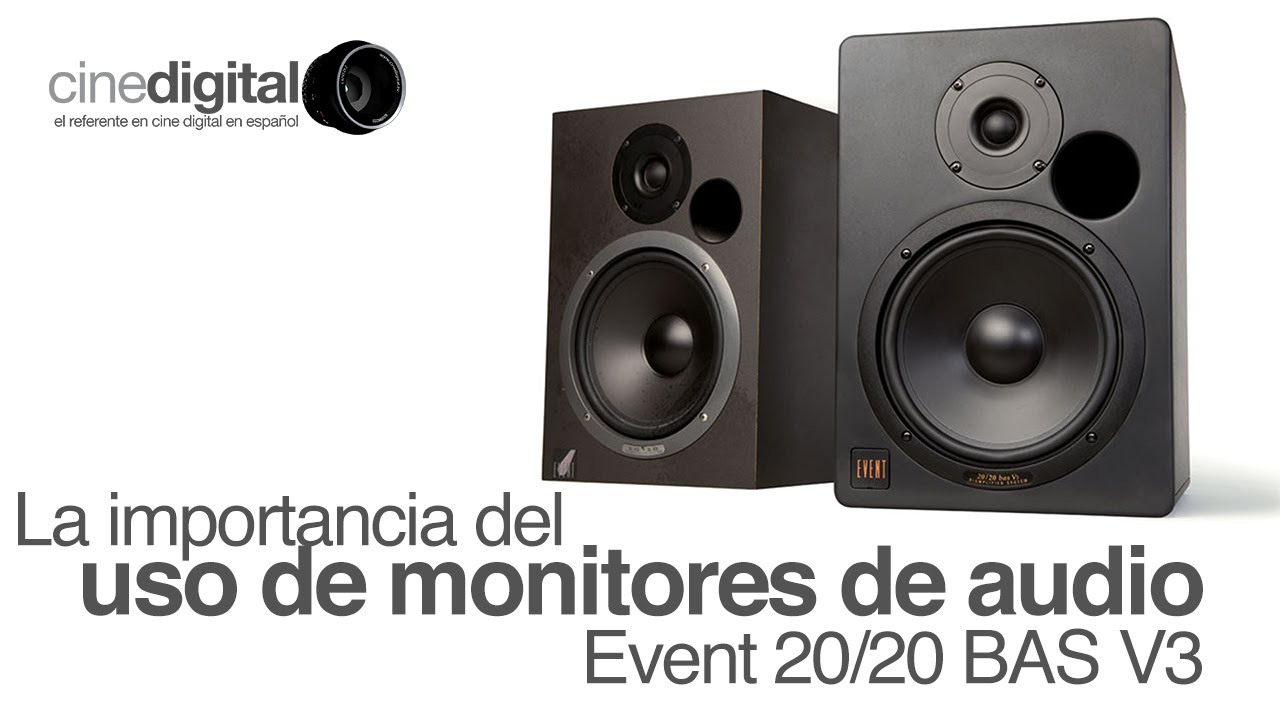 la importancia del uso de monitores de audio event 20 20 bas v3 youtube. Black Bedroom Furniture Sets. Home Design Ideas