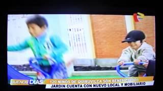 Nota de Prensa: Inauguracion IEI Nuevo Amanecer de Quiruvilca